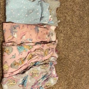 Carters and Disney Pajamas